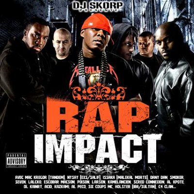 DJ SKORP / RAP IMPACT (JUIN 2008)
