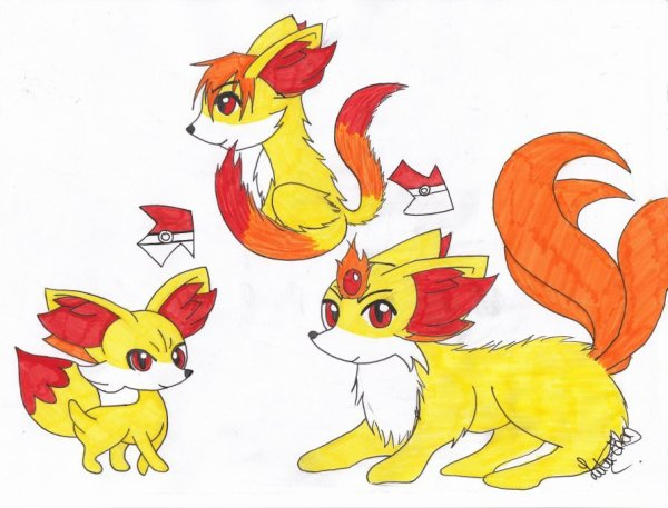 ~ ♥ ~ Fennekin's evolutions ! ~ ♥ ~