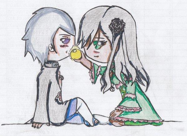 ~ ♥ ~ Kobura x Hidan ! ~ ♥ ~