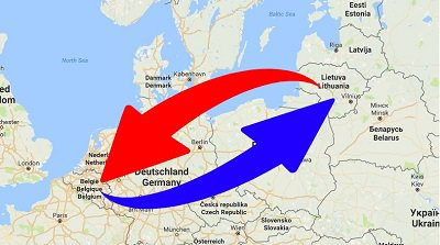 Transport Belgie – Litouwen