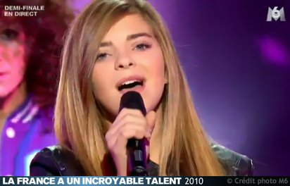 caroline a incroyable talent 2011