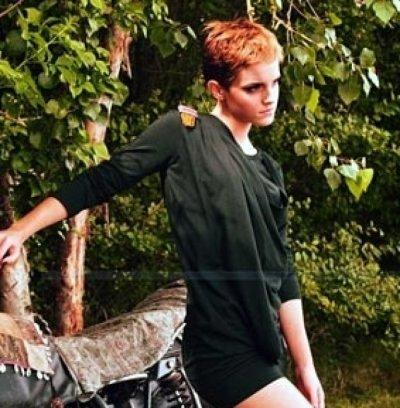 Emma Watson : vraiment magnifique pour People Tree !