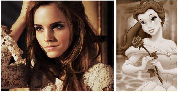 Emma jouera Belle dans la prochaine production des studios Disney