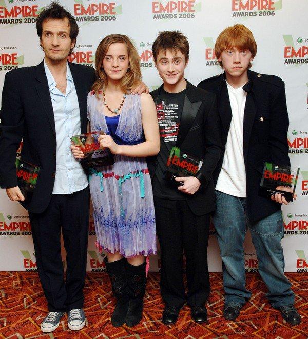 13 mars 2006 : Empire Film Awards à Londres