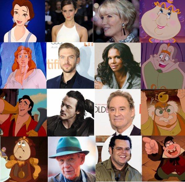 Petit résumé du casting de La Belle et la Bête