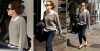 19 mai 2015 Emma sortant d'un restaurant à Londres