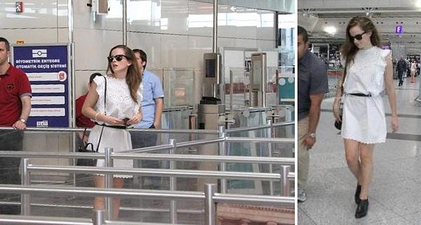 25 juin 2015 Emma en vacances en Turquie