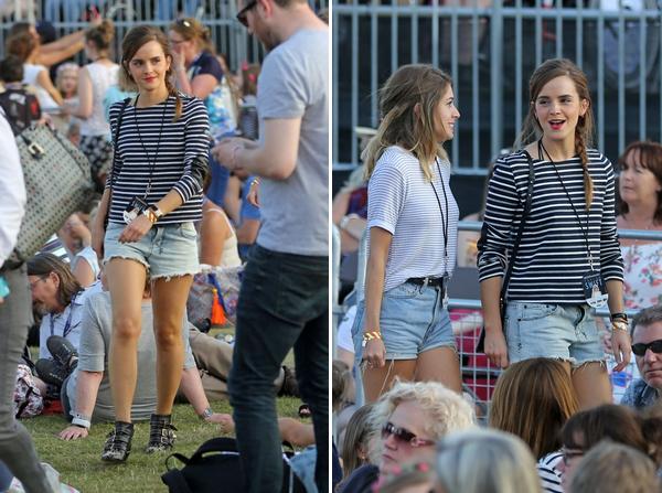 27 juin 2015 Emma au concert de Taylor Swift