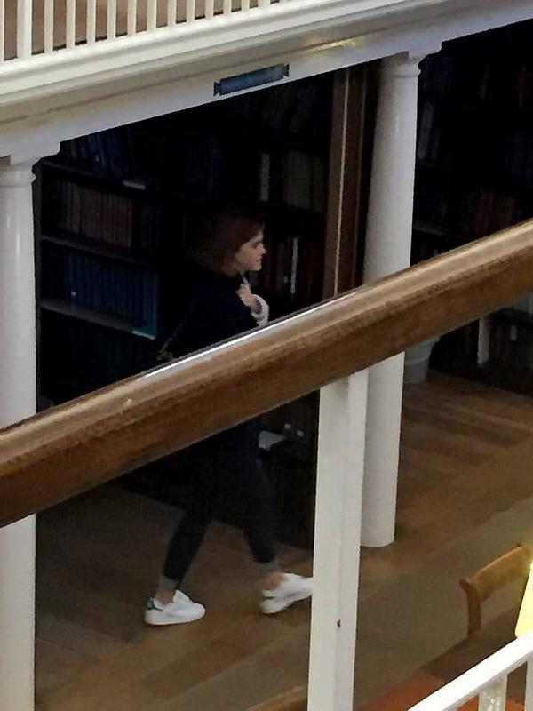 24 février 2016 Emma et Gloria Steinem à la How To Academy de Londres