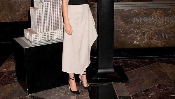 8 mars 2016 Emma à l'Empire State Building