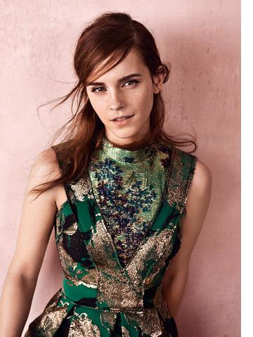 Extraits de l'interview d'Emma pour Vogue UK Photos par Josh Olins