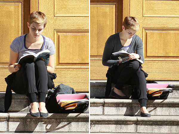 22 septembre 2010 Emma sur le campus de Brown University