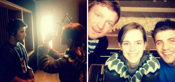Août 2012 Emma en voyage en Islande pour le tournage de Noé