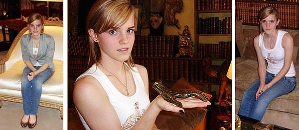 2007 Emma dans les appartements de Coco Chanel