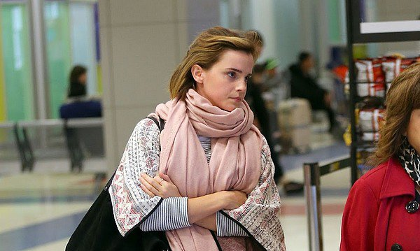 3 avril 2016 Emma à l'aéroport de New York