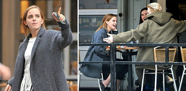Novembre 2015 Emma toujours à New York !