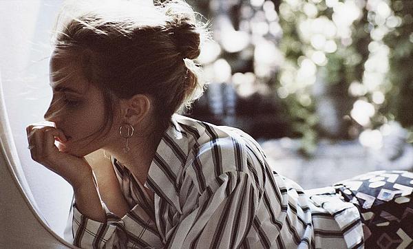 Hiver 2015 En couverture du magazine PorterMagnifiques photos de Cass Bird et l'interview complète de Lucy Walker