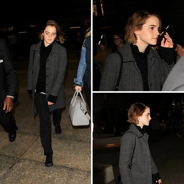 9 décembre 2015 Emma de retour aux Etats-Unis