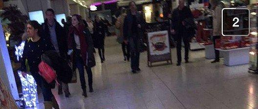 1er Janvier 2016 Emma dans un aéroport en Ecosse