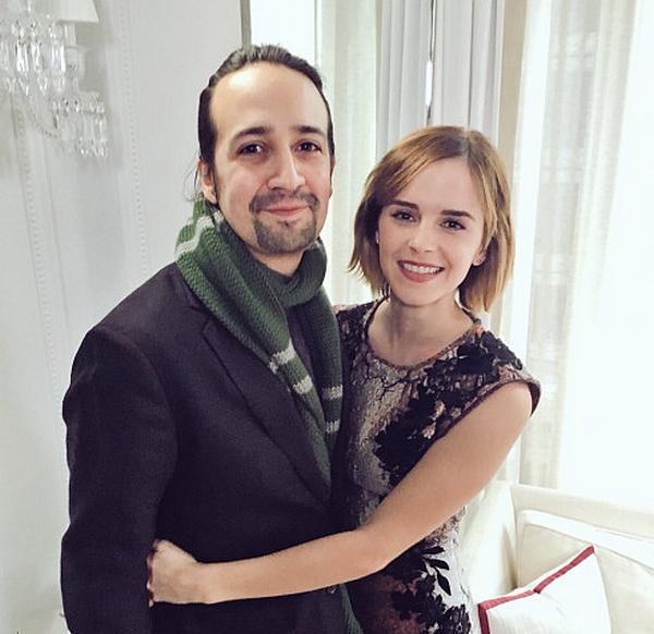17 mars 2016 Emma interviewe Lin-Manuel Miranda