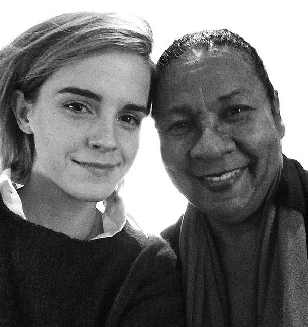 Interview avec Bell Hooks pour Paper Magazine :. Emma prend une année de congé pour se concentrer sur le féminisme