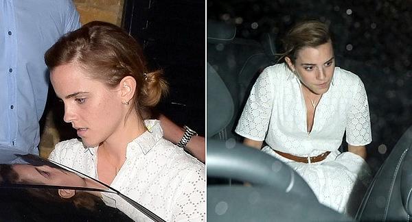 9 juin 2016 Emma à Londres