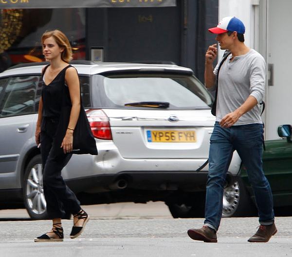 4 juillet 2016 Emma et Mack à Londres
