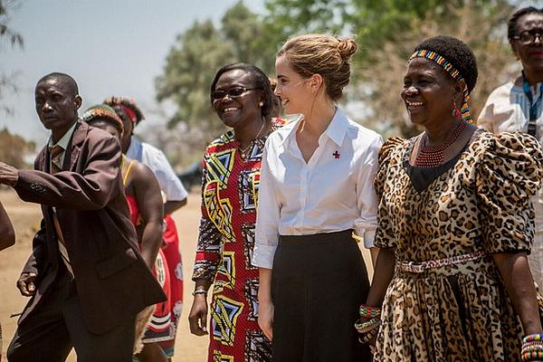10 octobre 2016 Emma en visite au Malawi