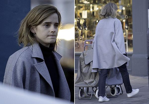 2 novembre 2016 Emma dans les rues londoniennes