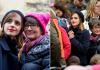21 janvier 2017 Emma marche pour les droits des femmes à Washington, DC