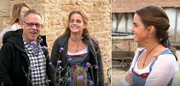 3 février 2017 Interview d'Emma sur les plateaux de tournage de Beauty