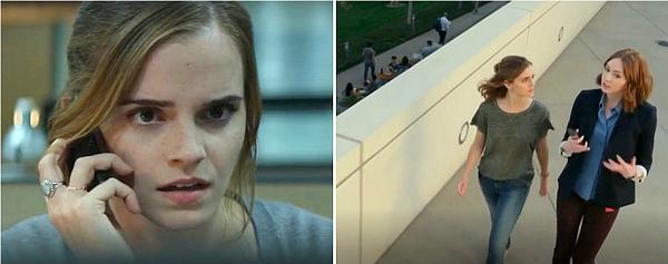 9 février 2017 Nouvelles images d'Emma dans The Circle
