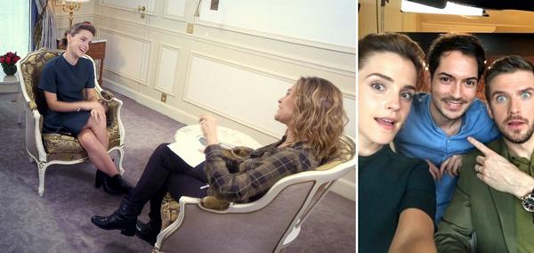 20 février 2017 Promotion de Beauty . Emma à Paris