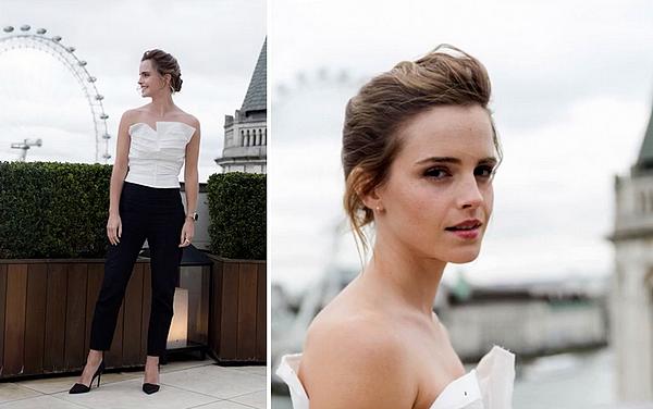 21 février 2017 Promotion de Beauty . Emma à Londres