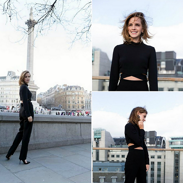 24 février 2017 Promotion de Beauty . Photocall à Londres