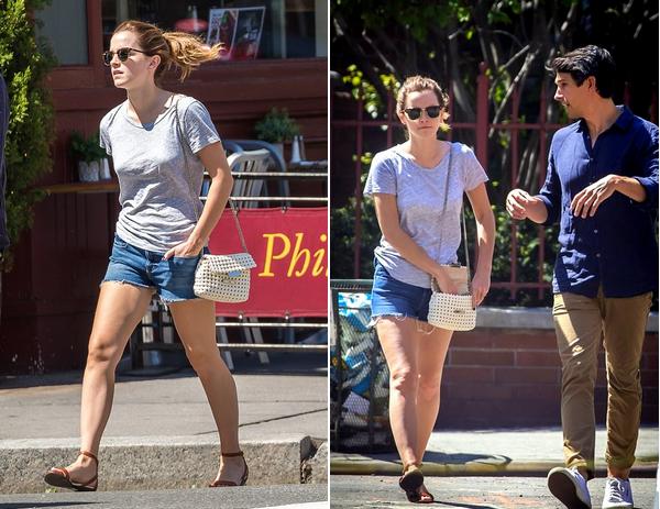 Le mois de mai 2017 d'Emma Watson, à New York