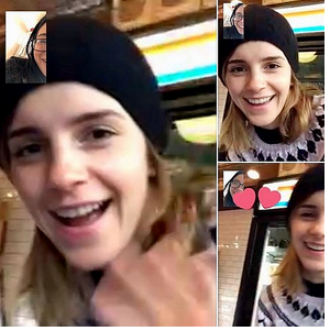 26 avril 2017 Emma aperçue à New York
