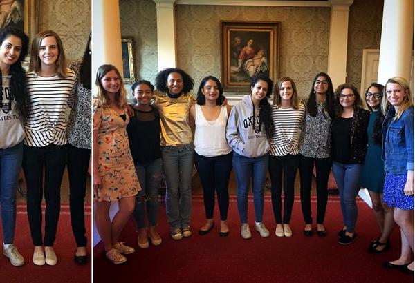 9 juin 2017 Emma à l'université d'Oxford