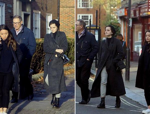 Novembre 2017 Emma au Royaume-Uni