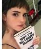 6 janvier 2018 Emma affiche fièrement sa nouvelle frange