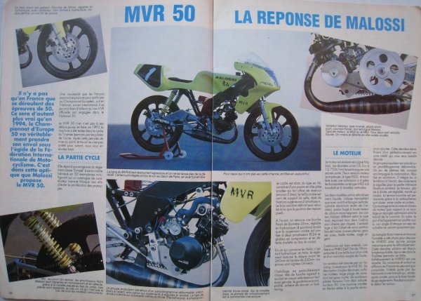 un pti dossier MVR malossi