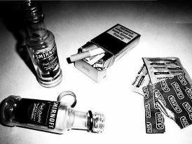 Sexe , Alcool , Cigarette