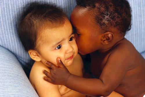 L'amour n'a pas de couleur...