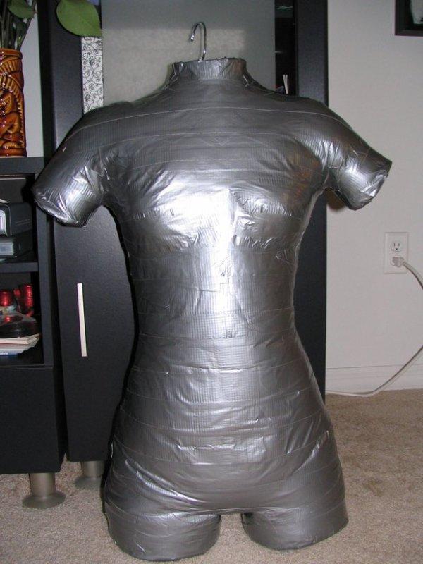 Faire un mannequin de couture