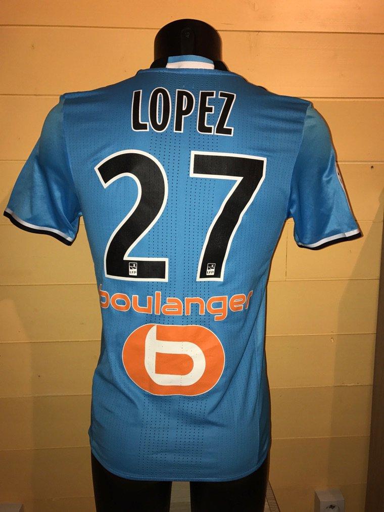 Maillot THIRD Olympique de Marseille Maxime LOPEZ