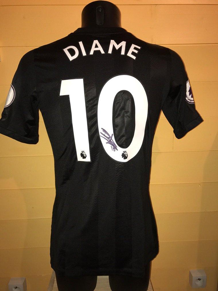 Maillot porté par Mohamed Diame lors Huddersfield vs Newcastle