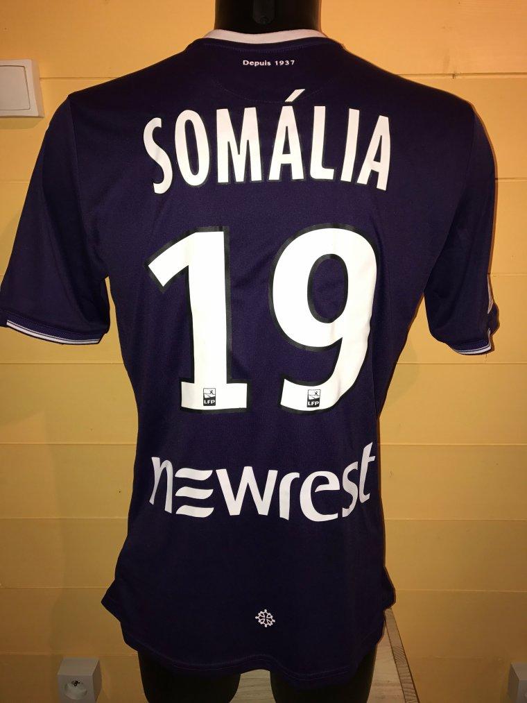 Maillot porté par Somalìa lors de TFC vs Bordeaux 15 Septembre 2017