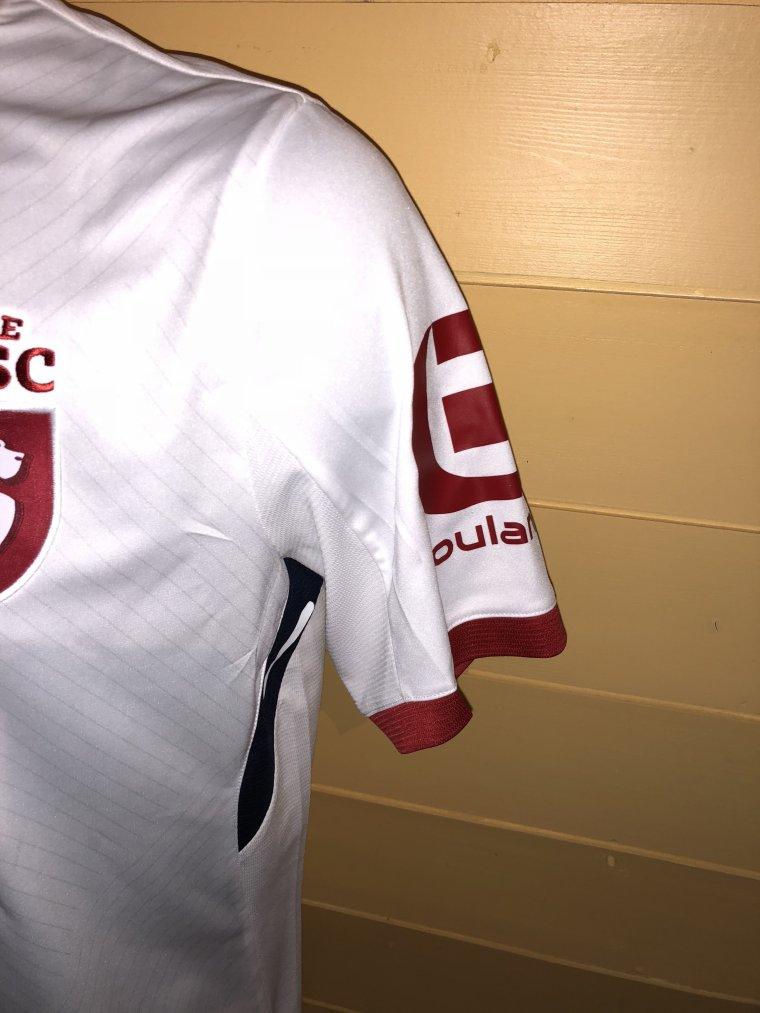 Maillot porté par Kevin Malcuit lors de la 1 ere mis temps de TFC vs LOSC
