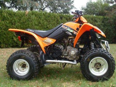 mon nouveau quad