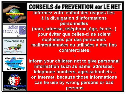 conseil de prevention